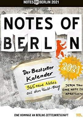 Notes of Berlin
